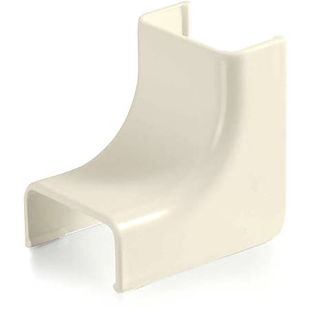 C2G Wiremold Uniduct 2800 Internal Elbow - Ivory - Ivory - Polyvinyl Chloride (PVC)