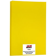JAM Paper Cover Card Stock 11