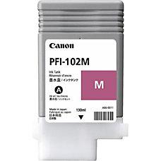 Canon PFI 102 M 130 ml