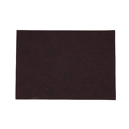 """Scotch-Brite™ Surface Preparation Pad Sheets, 14"""" x 20"""", Maroon, Pack Of 10"""