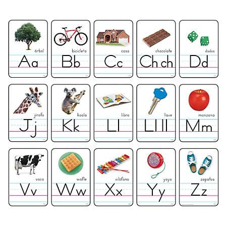 "TREND Bulletin Board Set, Franja Ilustrada Del Alfabeto, 5 7/8"" x 8 1/4"", Multicolor, Grades K-6"