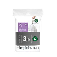 simplehuman Custom Fit 003 mil Can