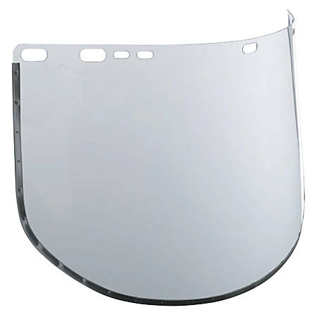 """Jackson Safety F30 34-40 Acetate Face Shield, 15 1/2"""" x 9"""", Clear"""