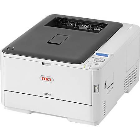 OKI® C332dn LED Color Printer