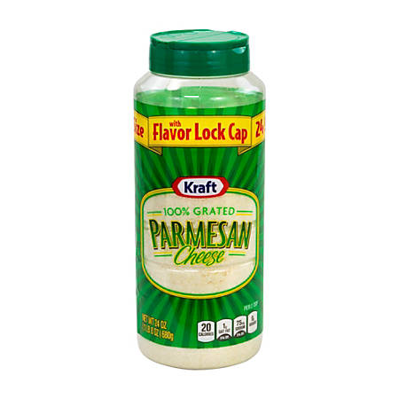Kraft 100% Grated Parmesan Cheese, 24 Oz Bottle