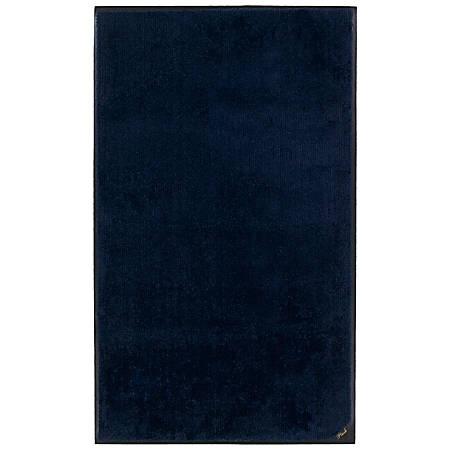 """M + A Matting Colorstar Plush Floor Mat, 24"""" x 36"""", Deeper Navy"""
