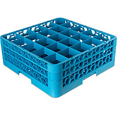 OptiClean 25 Compartment Glass Rack With