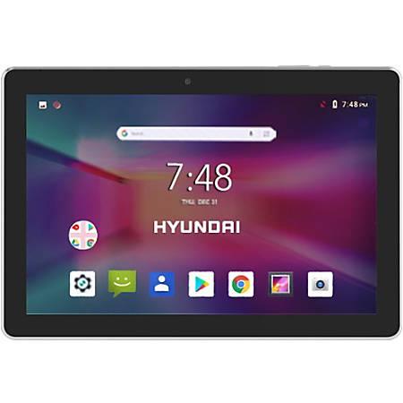 """Hyundai Koral 10X2 Series Tablet, 10.1"""" Touchscreen, 1GB Memory, 16GB Storage, Android 8.1 Oreo Go, Gold"""