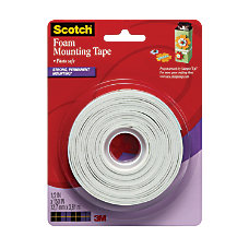 Scotch Foam Mounting Tape 12 x