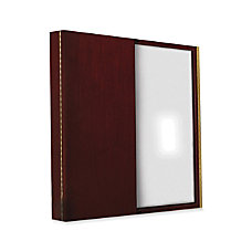Enclosed Boards Dry Erase Board At Office Depot Rh Officedepot Com