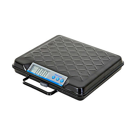 Brecknell® Electromechanical Digital Scale, 100-Lb Capacity, Black