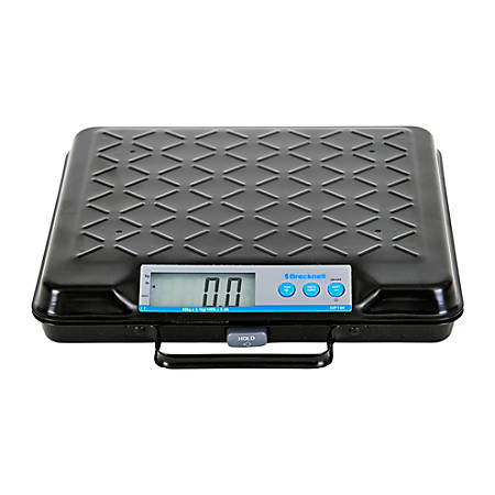 Brecknell Electromechanical 100 lb. Capacity Scale - 100 lb / 45 kg Maximum Weight Capacity - Black