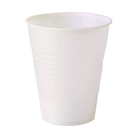 Highmark® Plastic Cups, 12 Oz, Translucent, Pack Of 50 Cups