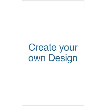 Custom Vertical Display Banner