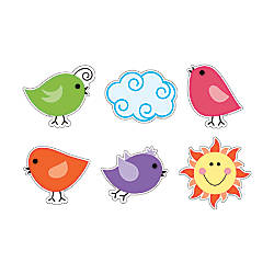 Barker Creek Accents Happy Birds Pack