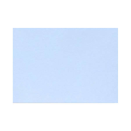 """LUX Mini Flat Cards, #17, 2 9/16"""" x 3 9/16"""", Baby Blue, Pack Of 250"""