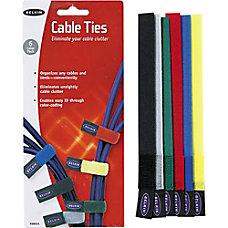 Belkin Nylon Tie Wraps 8 Assorted