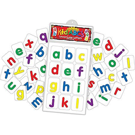 Barker Creek® Magnets, Magnetic KidABC's™, Lowercase Letters, Grades Pre-K–2, Pack Of 38