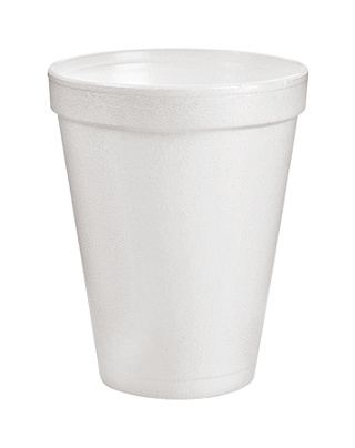 dart insulated foam drinking cups white 10 oz case of 1000 by office