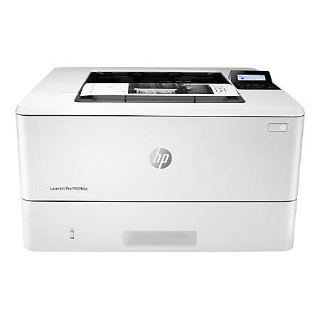 HP LaserJet Pro M404dw Wireless Monochrome Laser Printer with Duplex Printing (W1A56A)