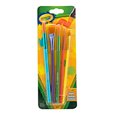 Crayola Arts Crafts Brushes Assorted Sizes