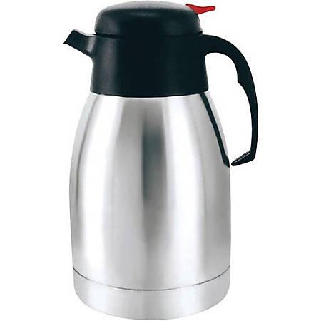 Brentwood 1.2 Liter Vacuum Stainless Steel Coffee Pot (CTS-1200) - 1.3 quart (1.2 L) - Vacuum