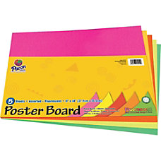 Pacon Peacock Coated Poster Board 11