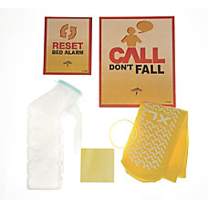 Medline Fall Prevention Kits Male Yellow