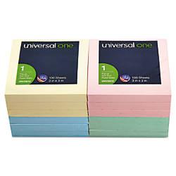 Universal Fan Folded Pop Up Notes