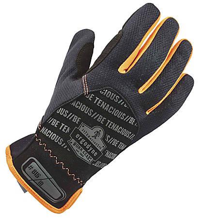 Ergodyne ProFlex 815 QuickCuff Utility Gloves, Small, Black