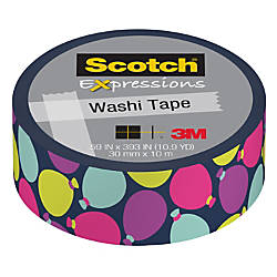 Scotch Expressions Washi Tape 35 x