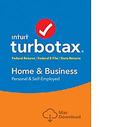 TurboTax Home Bus FedEfileState 2017 Mac