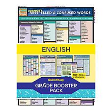 QuickStudy Grade Booster Pack English