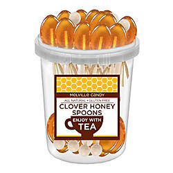 Melville Candy Naturally Flavored Honey Spoons