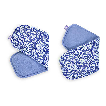 Gaiam Relax Hand/Foot Wraps, Purple, Pack Of 2 Wraps