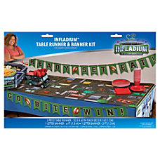 Amscan Plastic Football Scene Setter and