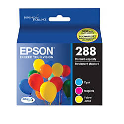 Epson DURABrite Ultra CyanMagentaYellow Ink Cartridges