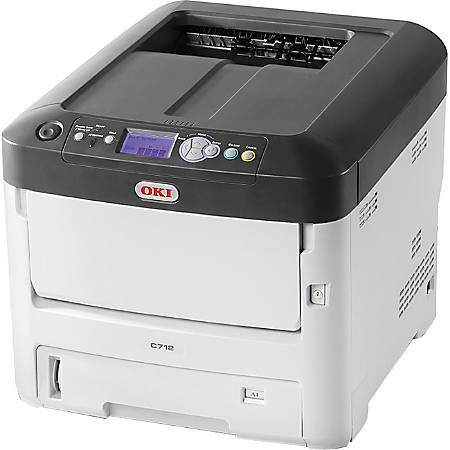OKI® C712dn LED Color Laser Printer