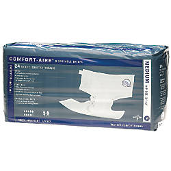 Comfort Aire Disposable Briefs Medium 32