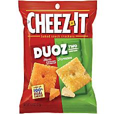 Keebler Cheez It Duoz CheddarParmesan Crackers
