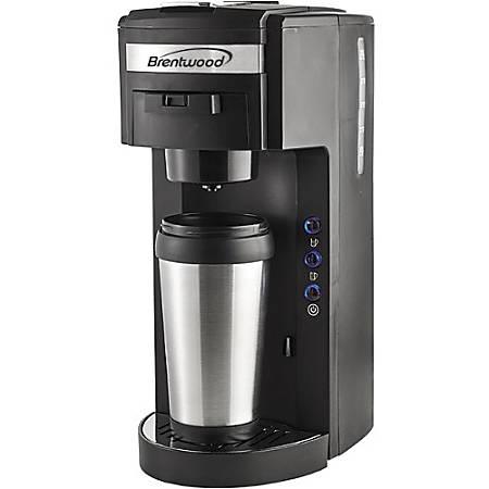Brentwood TS 114 Single Serve Coffee Maker by fice Depot & ficeMax #1: vw etz00