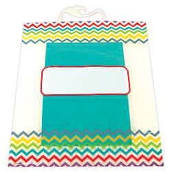 Creative Teaching Press Chevron Collection Storage