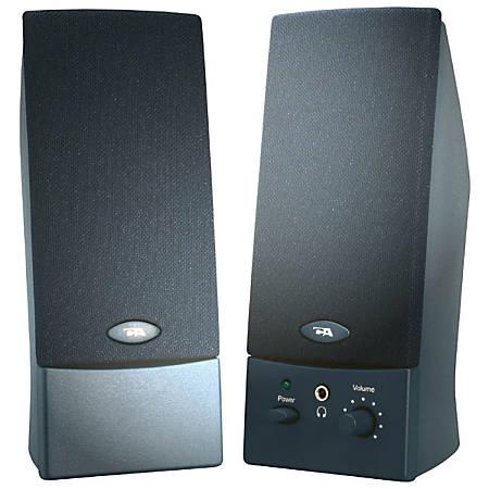 Cyber Acoustics CA-2016WB 2.0 Speaker System - Black