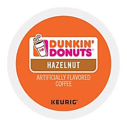 Dunkin Donuts Hazelnut Coffee K Cups
