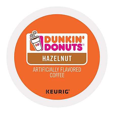 Dunkin' Donuts® Hazelnut Coffee K-Cups®, 0.4 Oz, Box Of 16