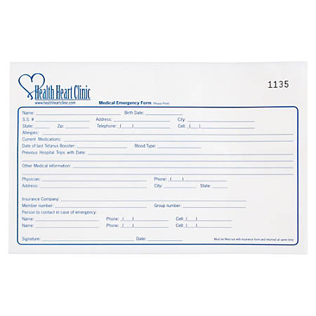 """Create Your Own Multi-Part Forms, 8 1/2"""" x 5 1/2"""", 2-Part, Box Of 250"""