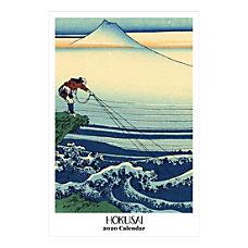 Retrospect Hokusai Monthly Wall Calendar 19