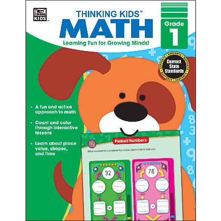 Carson-Dellosa Thinking Kids'® Math Resource Book, Grade 1