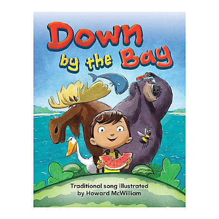 Teacher Created Materials Big Book, Down By The Bay, Pre-K - Grade 1