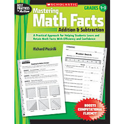 Scholastic Mastering Math Facts Addition Subtraction